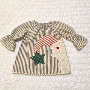 🌲Mud Pie - Adorable baby girls holiday dress🌲